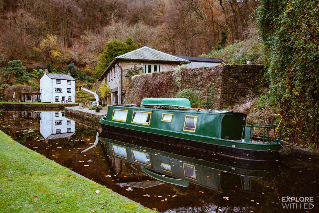 The Monmouth and Brecon Canal near Abergavenny