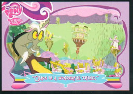 "My Little Pony ""Chaos is a Wonderful Thing."" Series 1 Trading Card"
