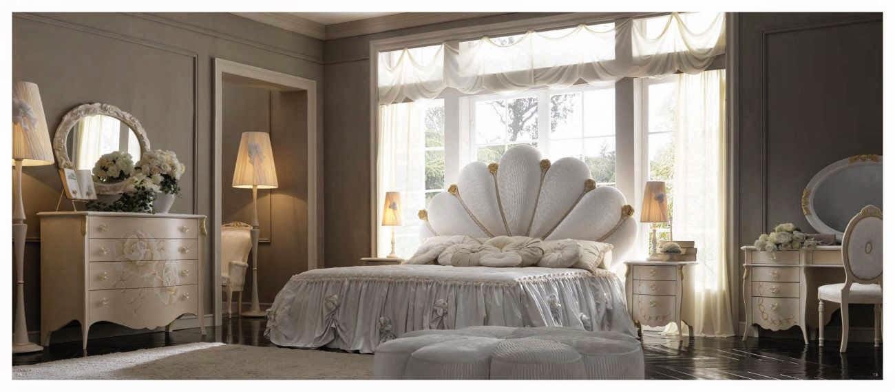 Design interior mobila dormitor de lux Italia - Design Interior | Amenajari interioare - Bucuresti | mobilier italian - mobila italia pat Capri de lux