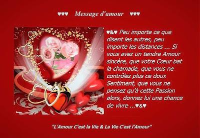 Merveilleux message d'amour et de Bonheur.
