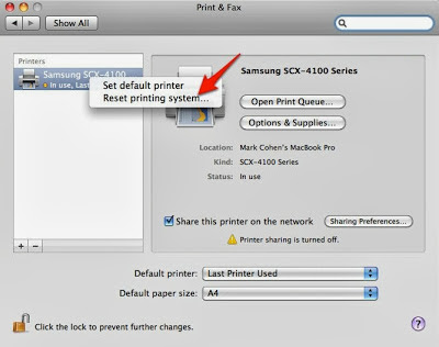 How to solve the error 306 in Canon printers installed on