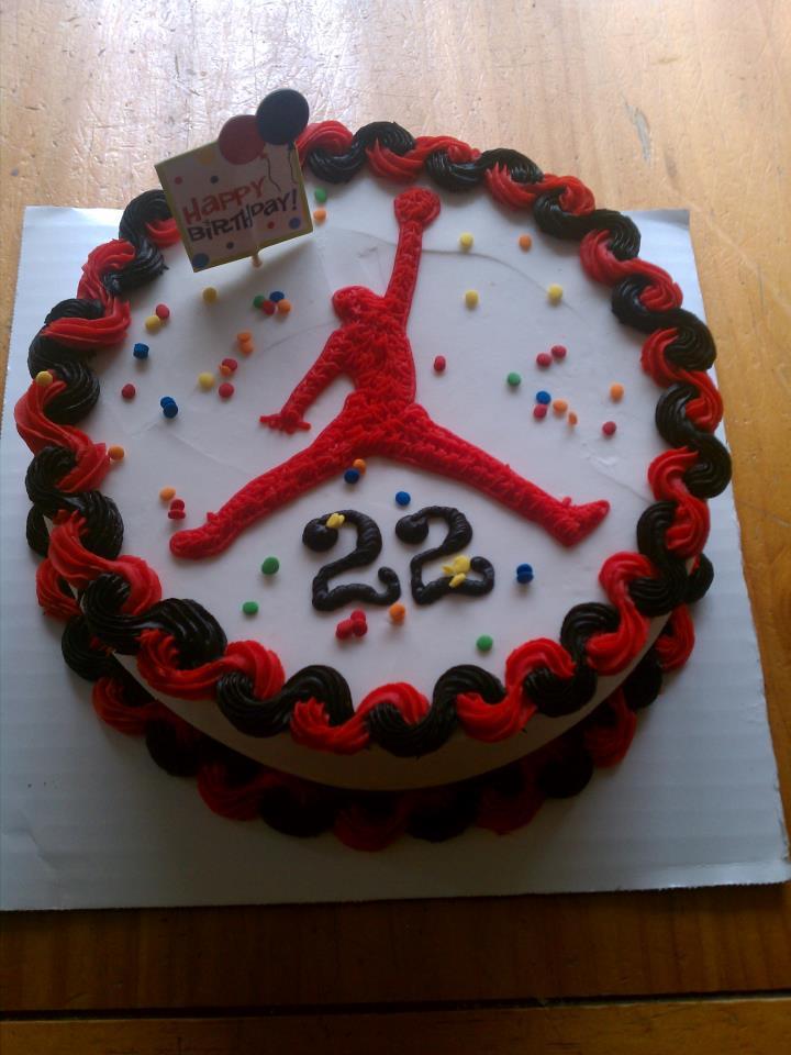 Introducing Jordan Cake Returns But In Red And Black