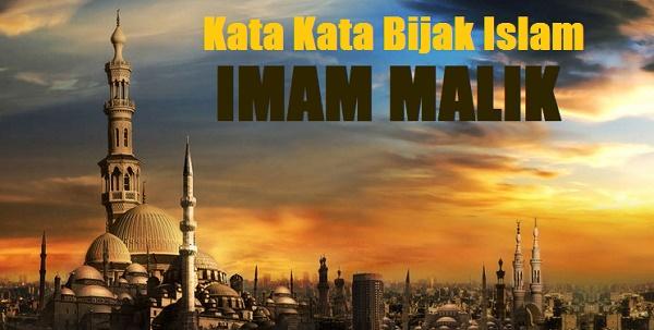 kata bijak islam imam malik