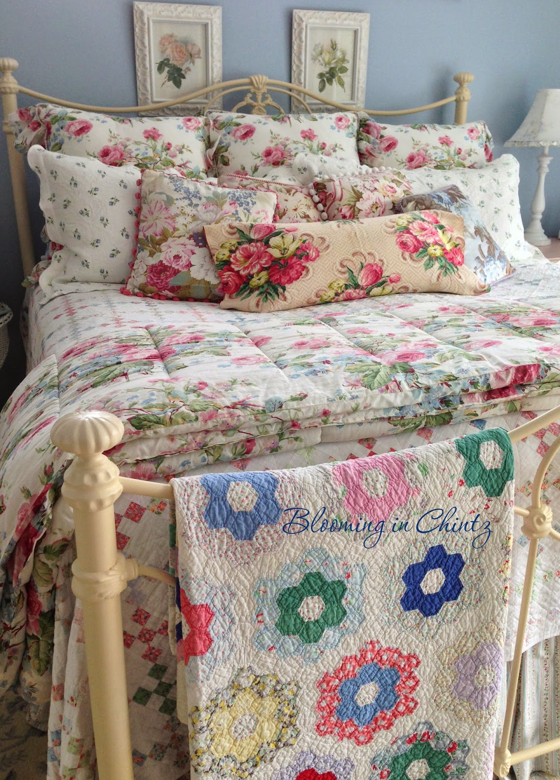 Blooming In Chintz: Bedroom Decorating