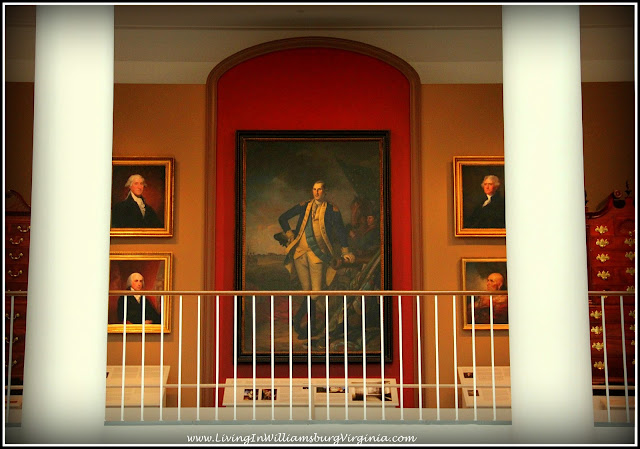 for presidents day we bring you this very large portrait of george washington which dominates its area of the dewitt wallace decorative arts museum - Dewitt Wallace Decorative Arts Museum