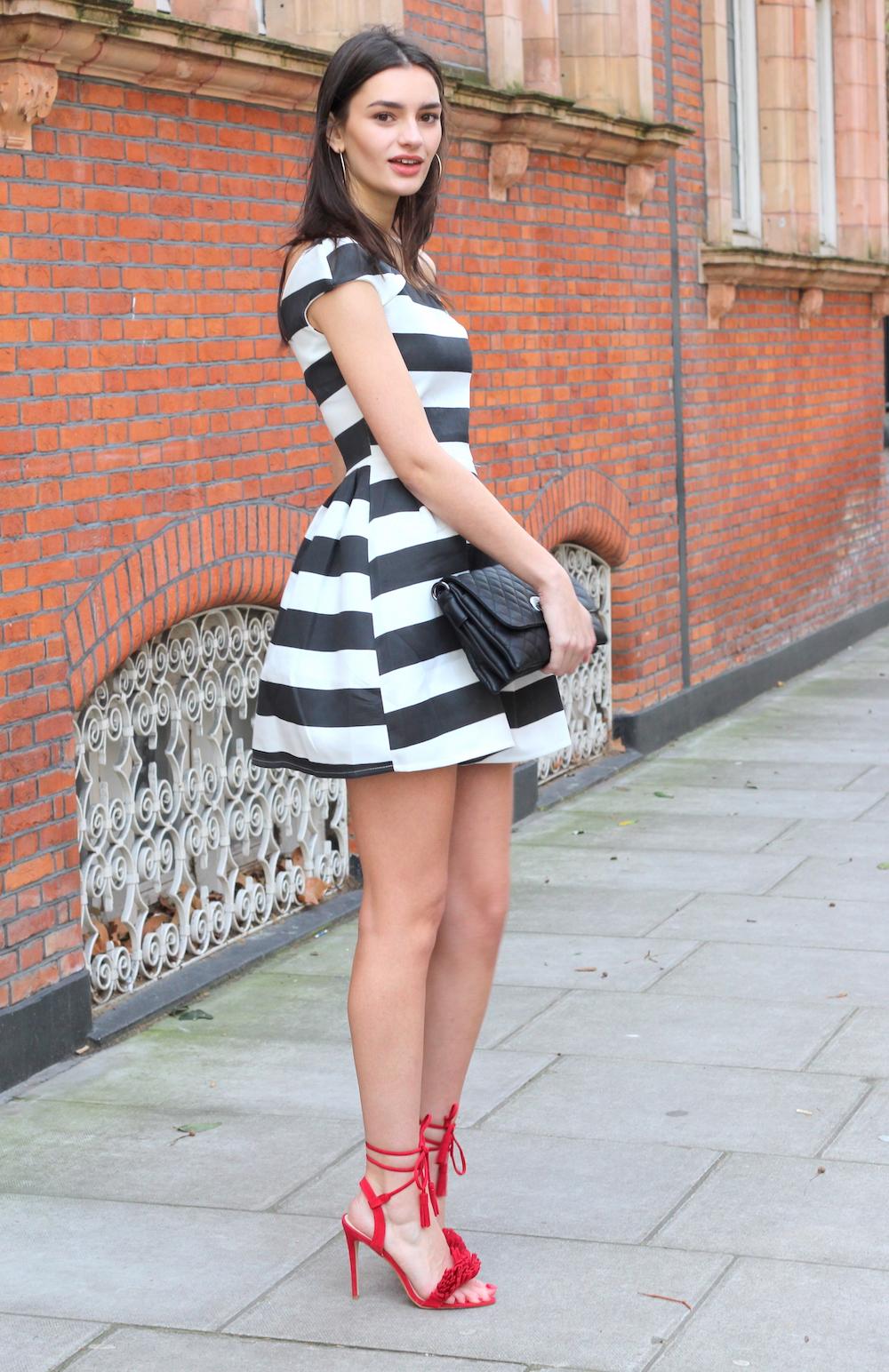 walg dress, public desire heels
