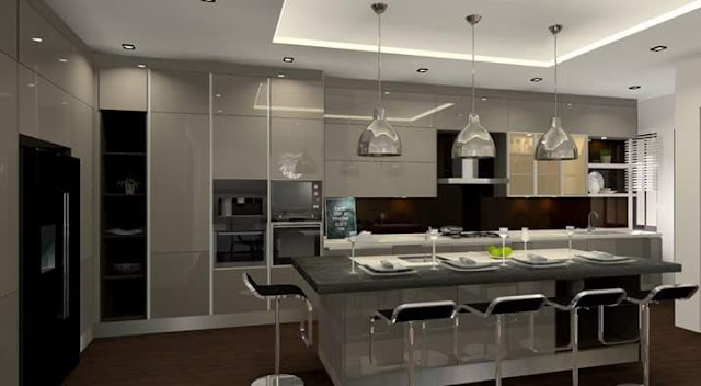Signature Kitchen cabinets - Meridian Interior Design