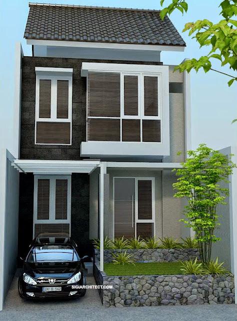 gambar desain rumah minimalsi 2 lantai terbaru
