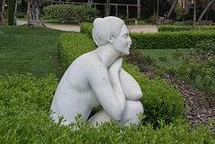 Serenitat d'Eulàlia Fàbregas de Sentmenat al Parc de Cervantes (Barcelona) per Teresa Grau Ros a Flickr