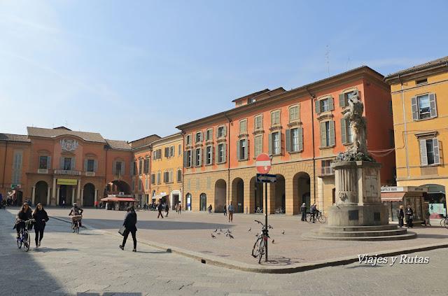 Piazza Camillo Prampolini, Reggio Emilia, Italia