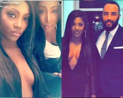 Tiwa Savage Oozes S*x Appeal as She Puts Cle@vage in Full Display for an Event in SA (Photos)