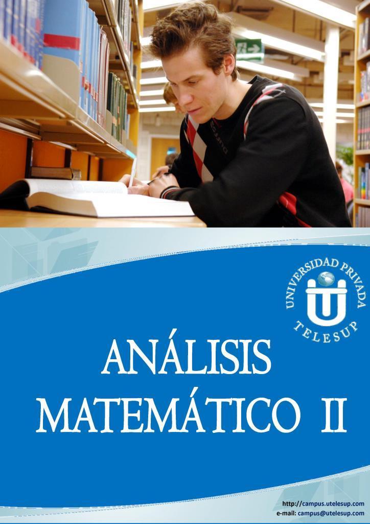 Análisis Matemático II – TELESUP