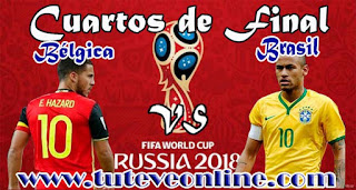 Ver Brasil vs Bélgica en vivo