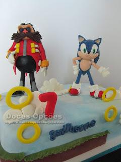 sonic Eggman cake