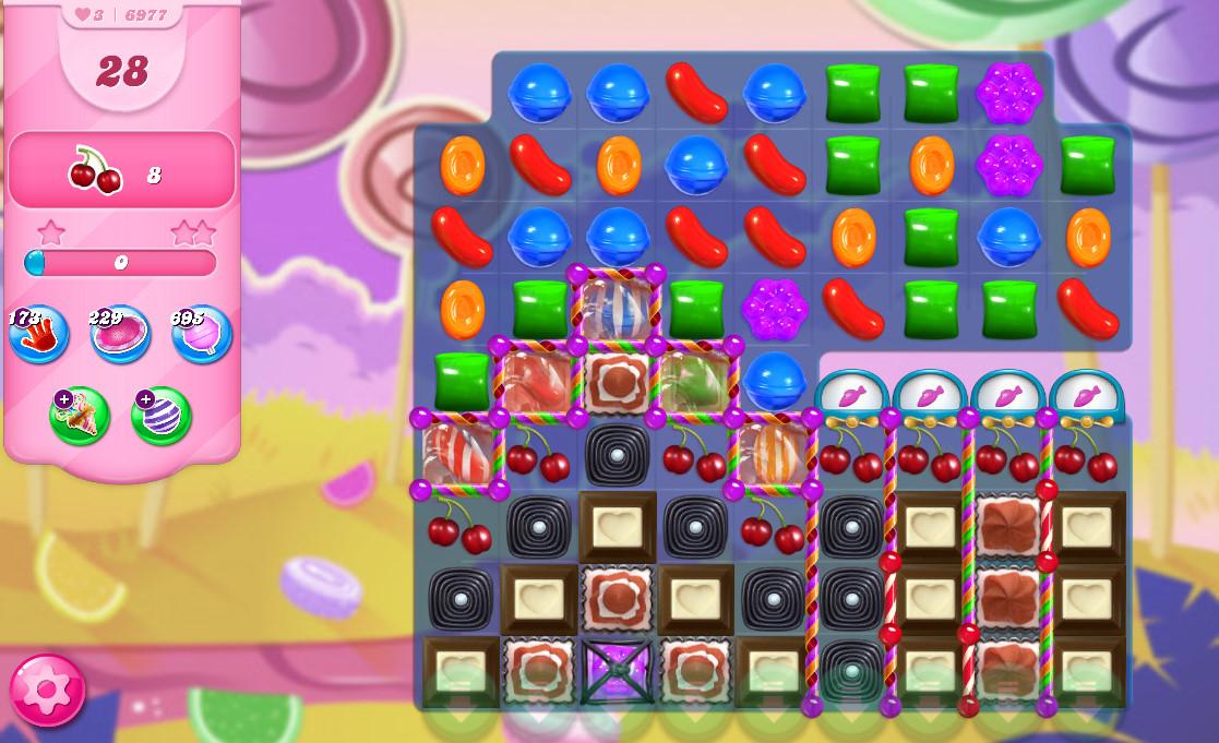 Candy Crush Saga level 6977