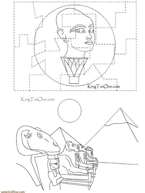 Imagens do Egito Antigo Para Desenhar