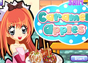 Cocinar manzanas de Caramelo
