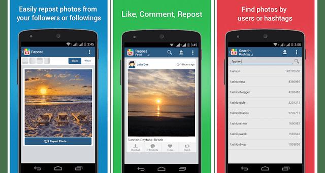 Aplikasi Repost Instagram