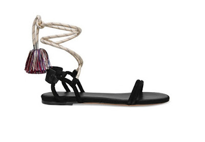 Isabel Marant Flat Sandals With Tassels