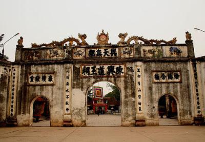 Cho thuê xe ở tại Hải Dương- đền Kiếp Bạc