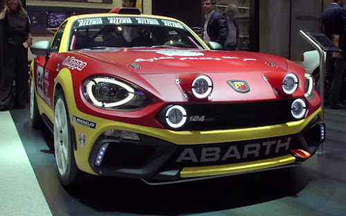 Abarth 124 Rally Prototipo