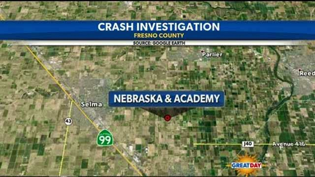 selma fresno county nebraska academy avenue van car accident collision