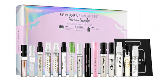 Sephora perfume sample set
