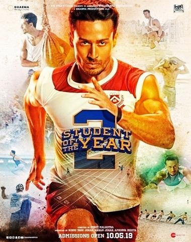 Student Of The year 2 [2019] Hindi PreDVDRip 480p 400MB 720p 1.2GB