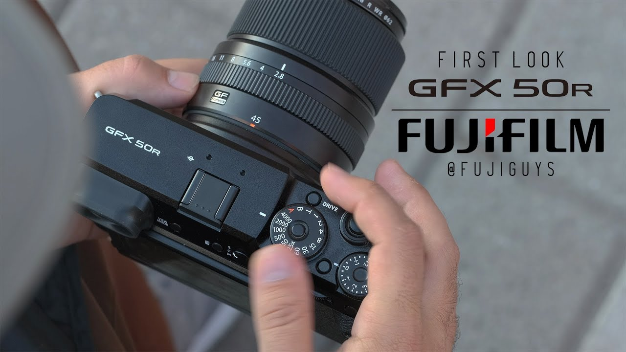 FUJIFILM GFX 50R - First Look