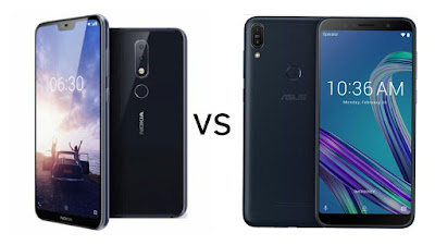 Nokia X6 vs Asus Zenfone Max Pro M1
