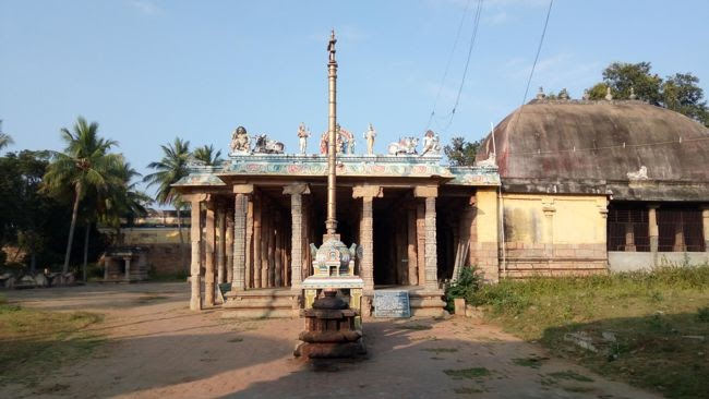 Thiruvalanchuzhi Temple Second Level Entrance