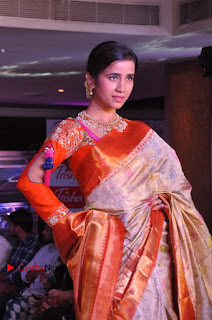 South Indian Celebrities Pos at Love For Handloom Collection Fashion Show  0008.jpg