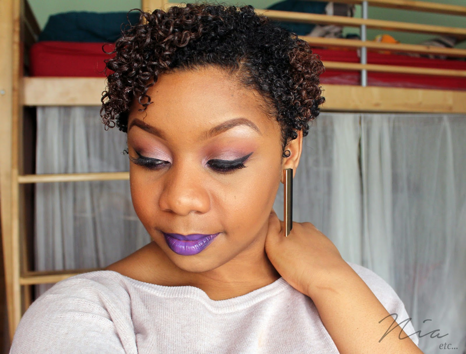 Pretty in Purple Make Up Look 3