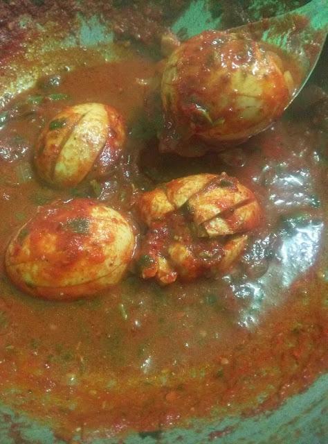 egg gravy for chapathi rice