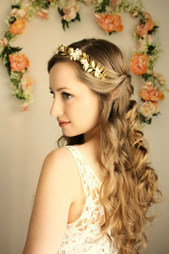 Astonishing Wedding Hair Inspired By Ancient Greek Goddesses Short Hairstyles Gunalazisus