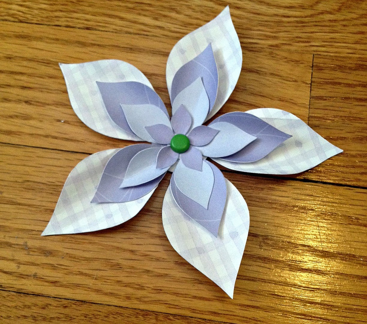 How To Make 3d Paper Flowers The Easy Free Way Silhouette