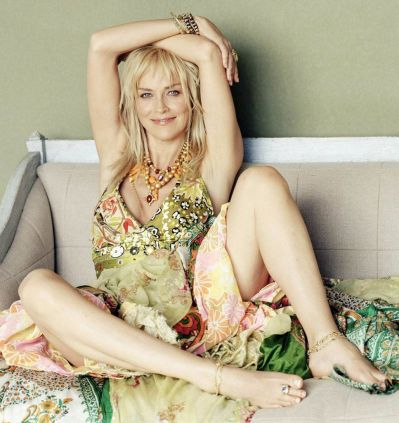 Sharon Stone Is Naughty School Teacher In