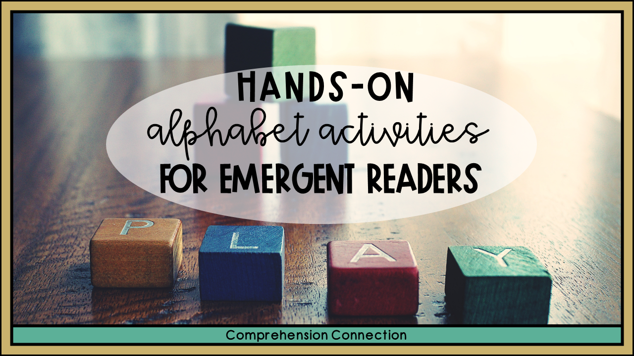 Looking for hands-on alphabet activities to support your PK-K classroom? This post includes a great variety of options and links to other great alphabet learning posts.