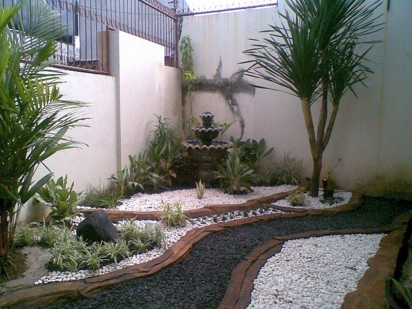 taman rumah sederhana kreatif