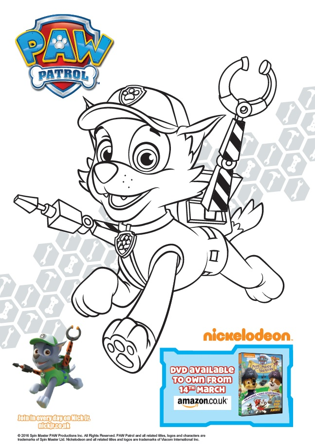 Paw patrol, Easter animation, pirate treasure