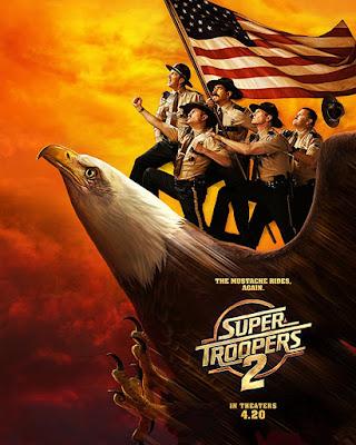 Sinopsis Super Troopers 2 (2018)
