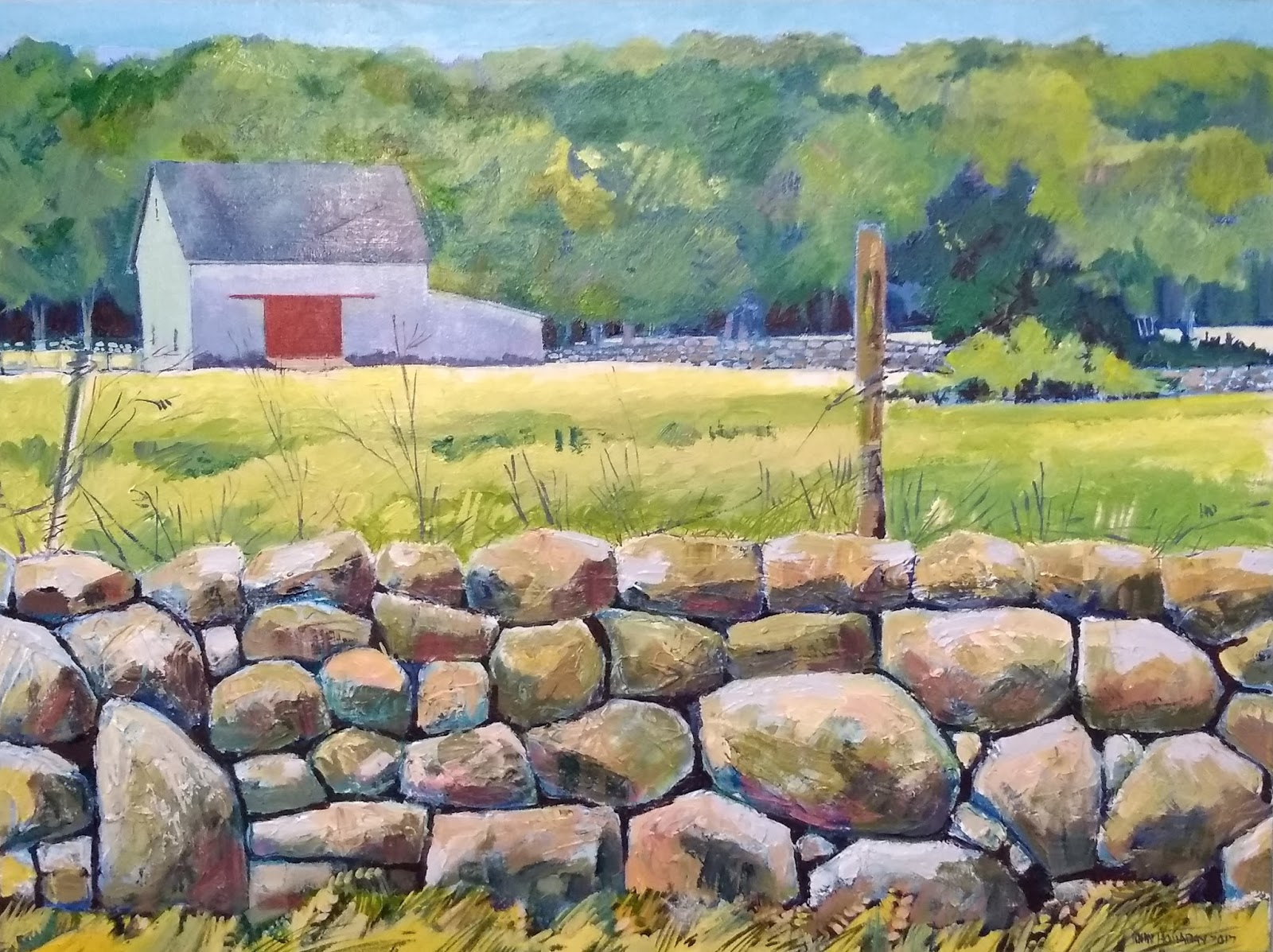 Vineyard Haven Public Library: Art in the Stacks: John Holladay