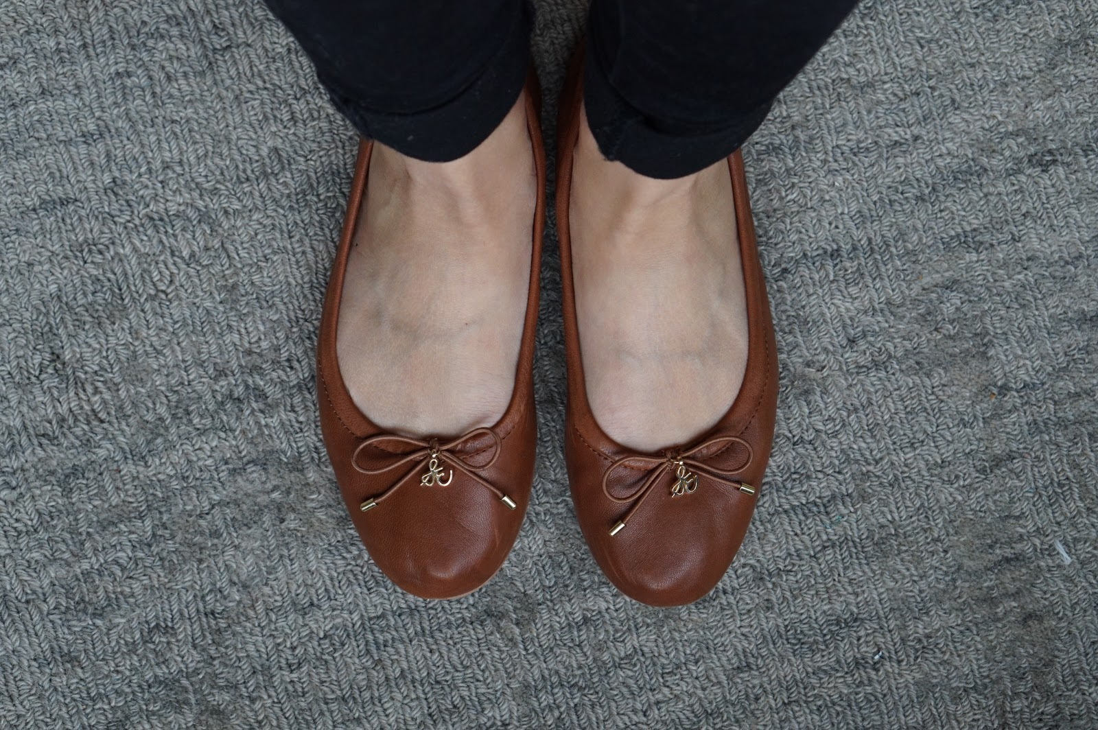 764630c3ec5 Sam Edelman Felicia Flats in Saddle Leather - One Year Use Review ...