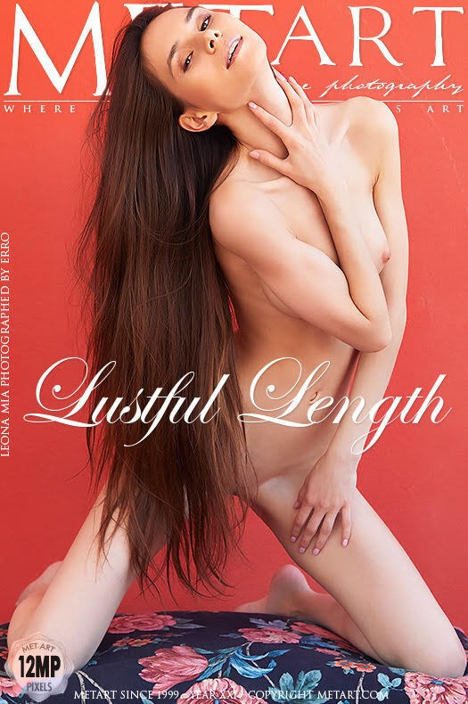 [Met-Art] Leona Mia - Lustful Length