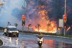 'Intifada do fogo': incêndios provocados por muçulmanos chegam a Jerusalém