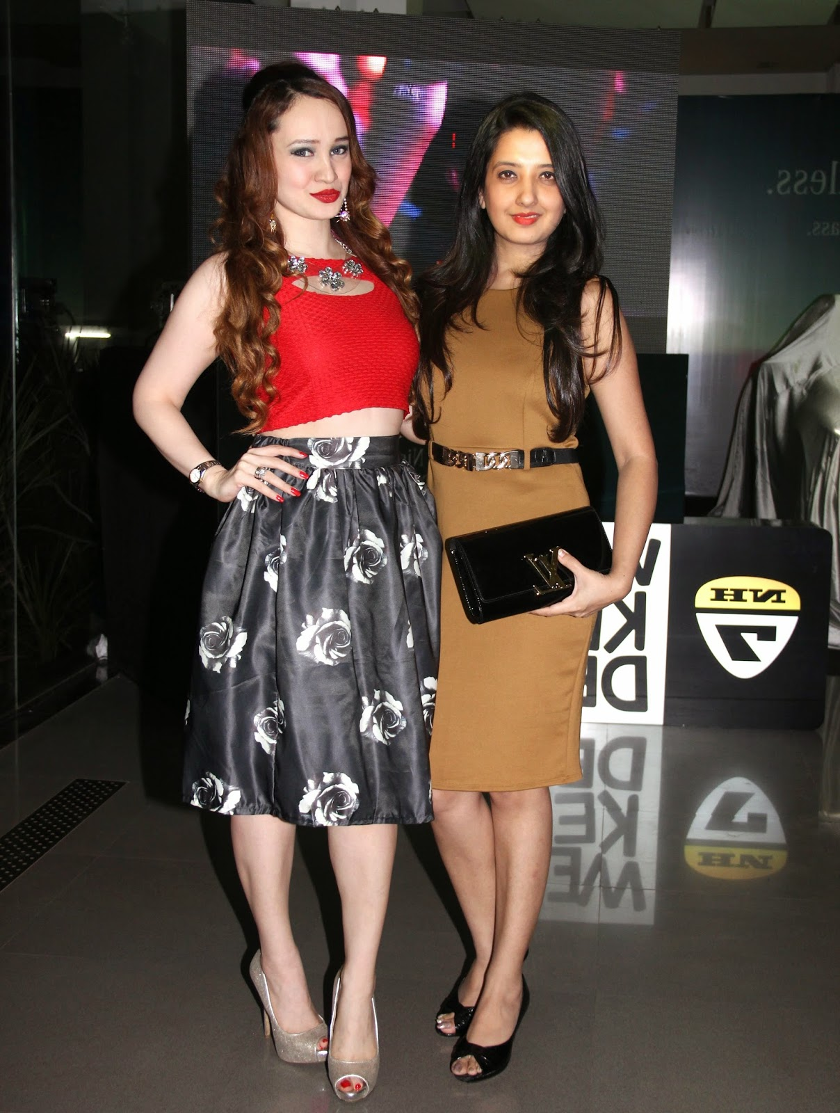 Amy Billimoria & Stephanie Timmins at the Mercedes Benz GLA-Class Preview Event