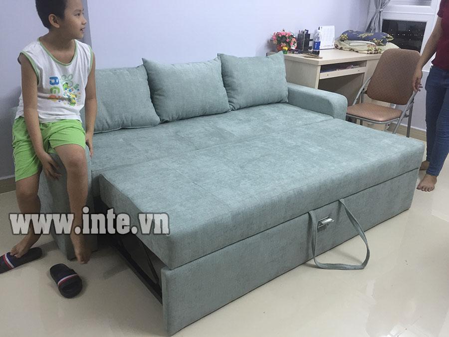 Ghế Sofa Giường Xếp Gọn Giải Phap Cho Nha Chật