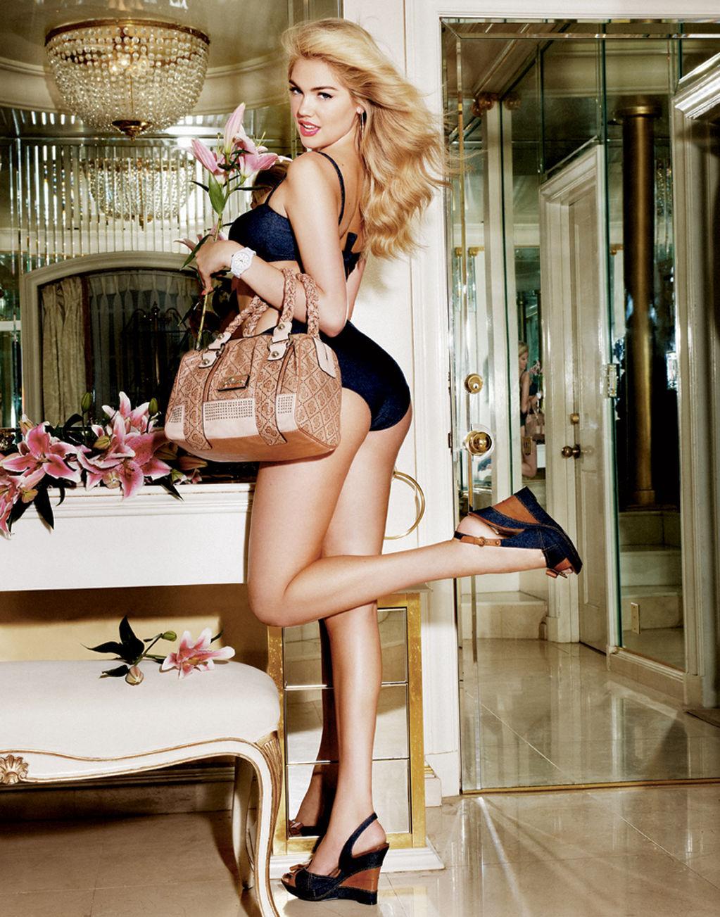 Celebritybuzzus Fashion Model Kate Upton Guess Photo -1310