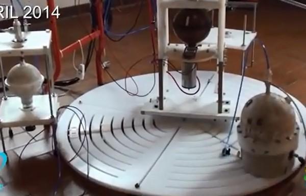 e18d76bafe4 Esta tecnologia irá fazer a raça humana ficar independente da queima de  combustível. O gerador elétrico Keshe é de aproximadamente 7 cm de  comprimento.