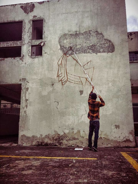 Street Art Mural By Mexican painter Curiot For The proyecto Frágil On The Streets Of Mexico. 3